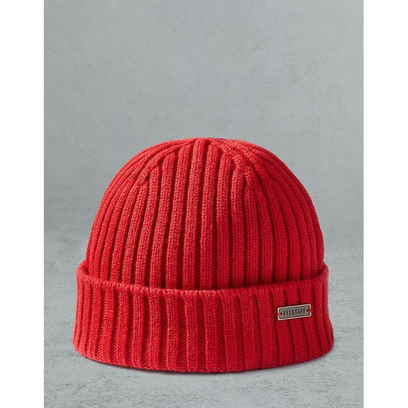 Belstaff Watch Hat Red