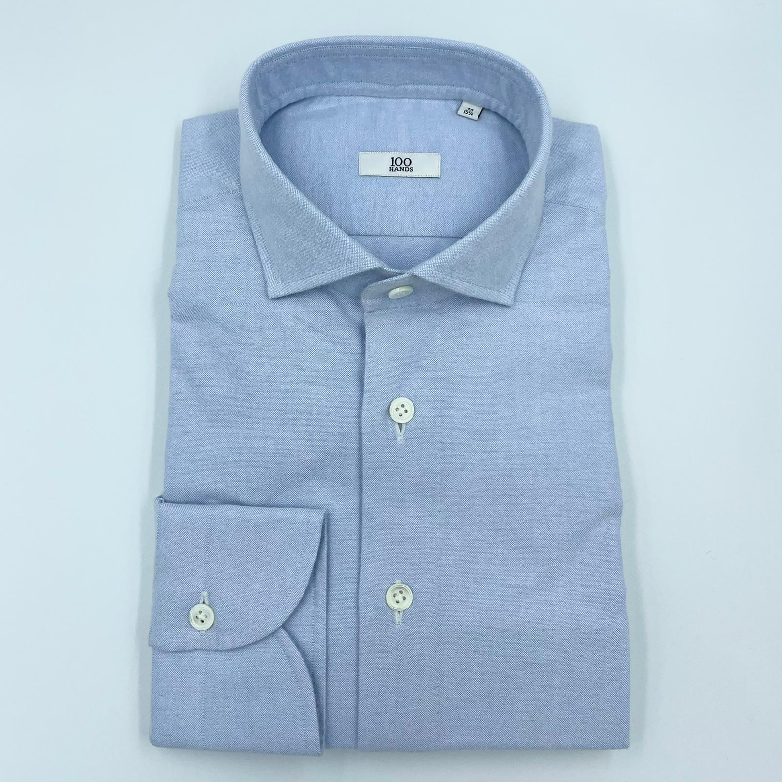 Foto van 100 Hands Light Blue Oxford