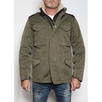 Foto van Ten C Field Jacket Green