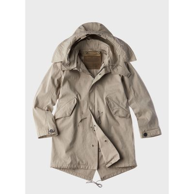 Foto van Ten C The Parka Pale Taupe