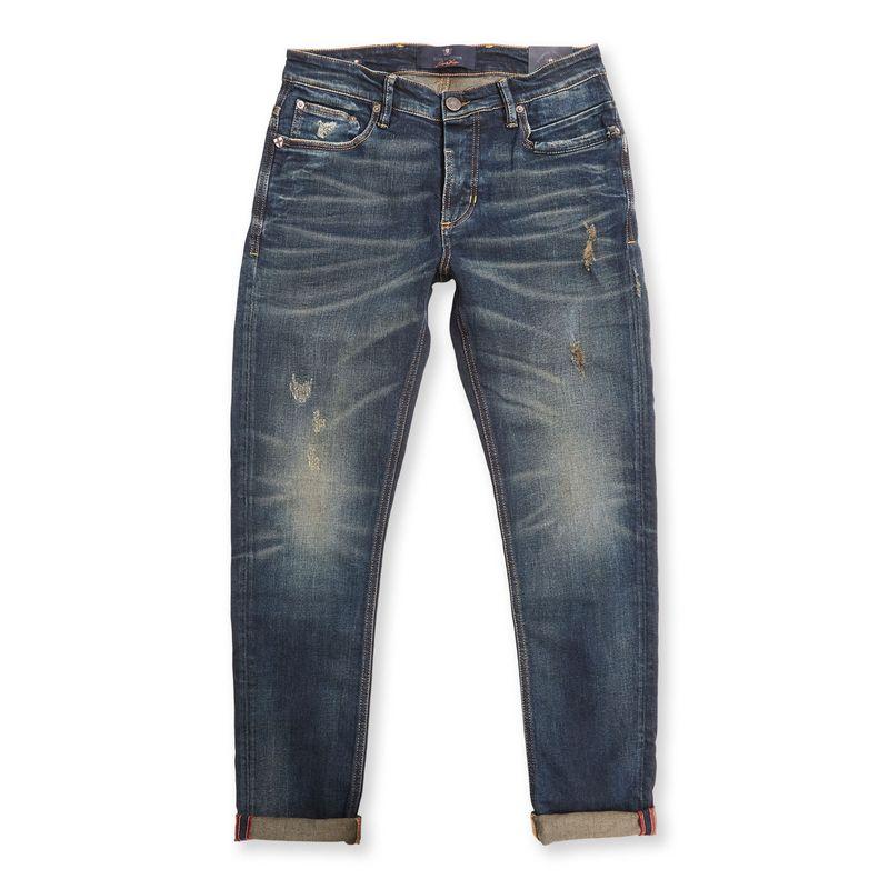 Blue de Genes Vinci Pala Rough Jeans