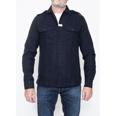 Foto van Blue de Genes Massimilliano Oregon Shirt Navy