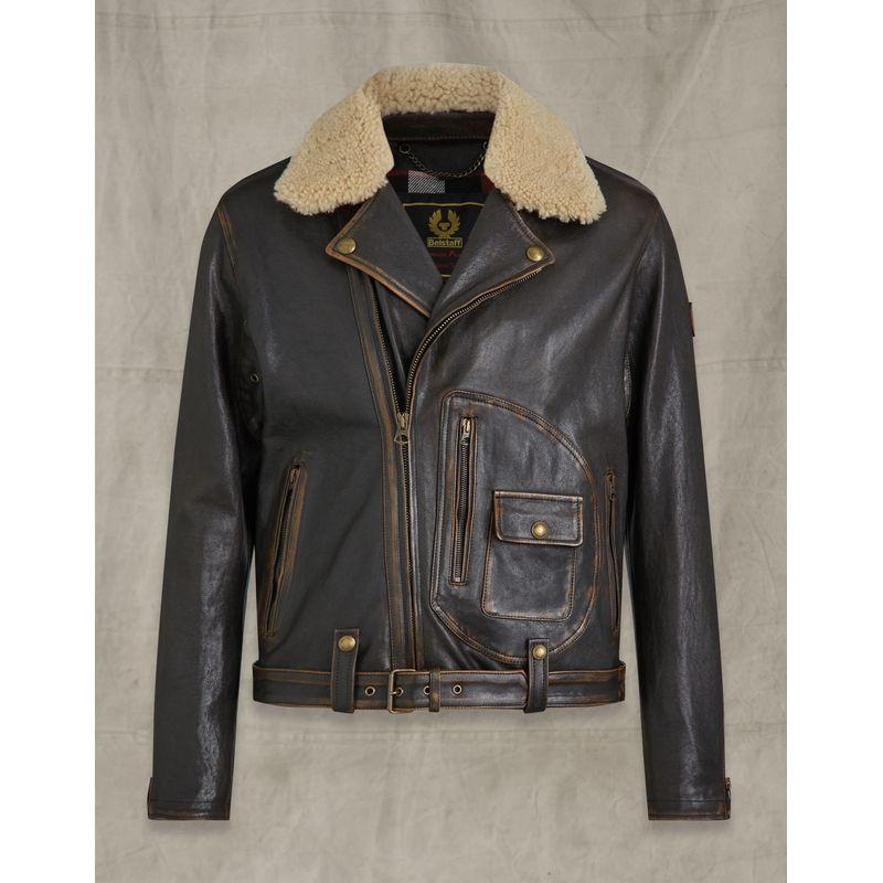 Belstaff Mustang Jacket Dark Bronw