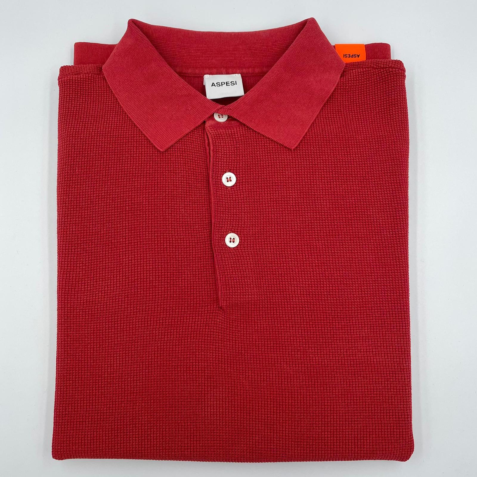 Foto van ASPESI Polo maglia PK Red