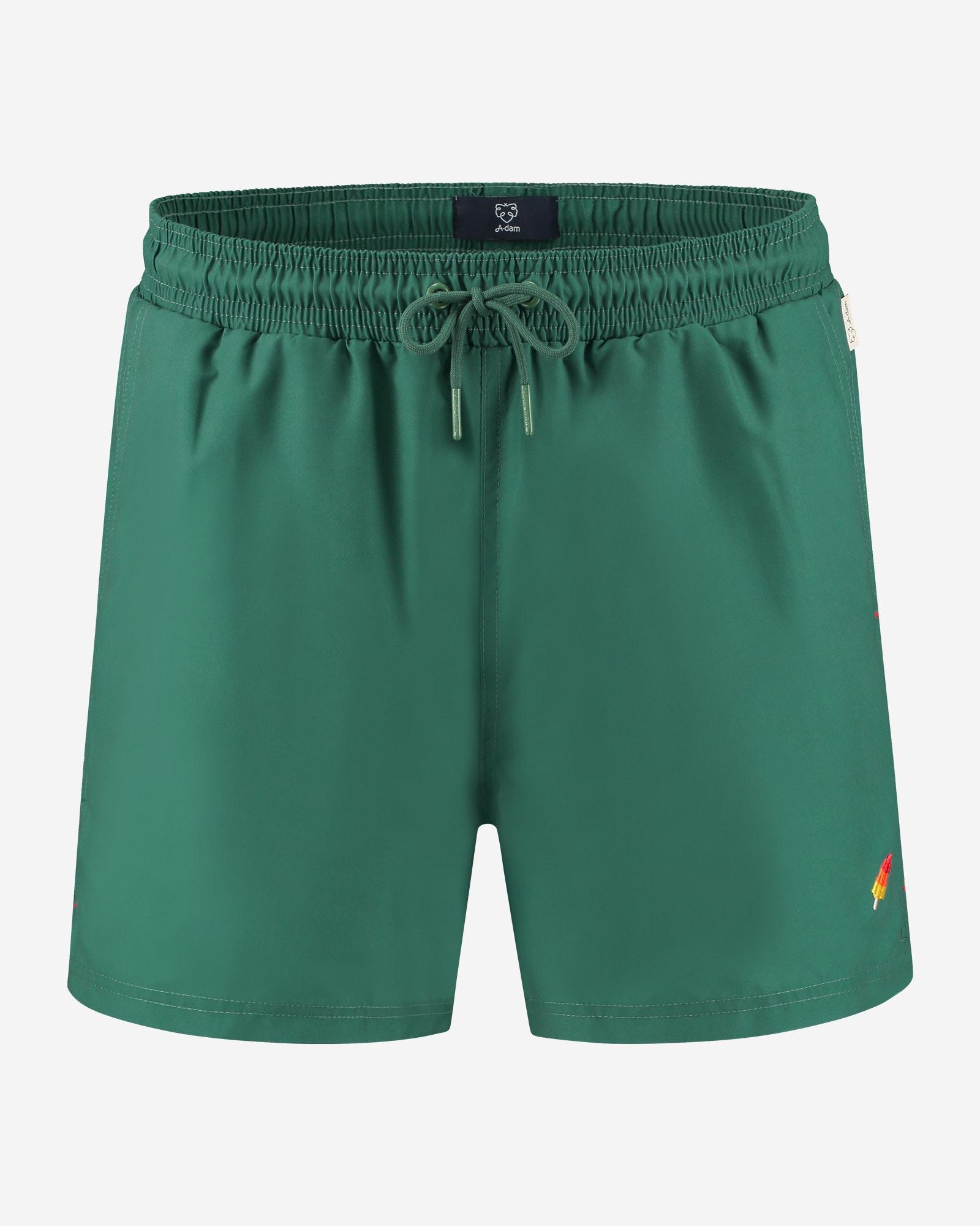 A-Dam Swimwear 1P Gino Green