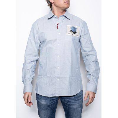 Foto van Kent & Curwen Regular Shirt Blue