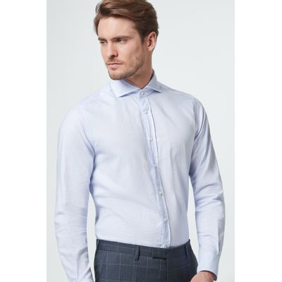 Foto van Windsor Casual Shirt Licht Blue
