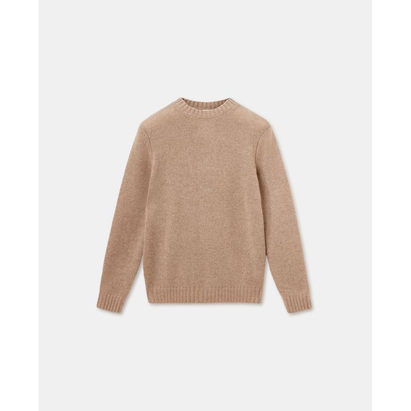 Aspesi Crew Neck Sweater Cashmere Dove Grey