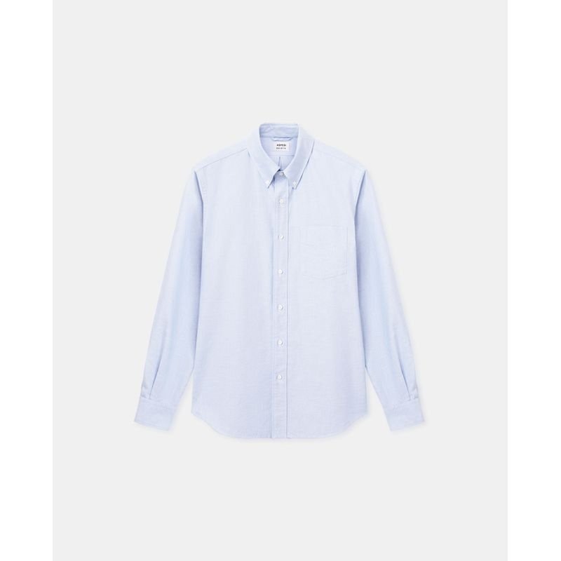 Aspesi Oxford Shirt Cotton Sky Blue