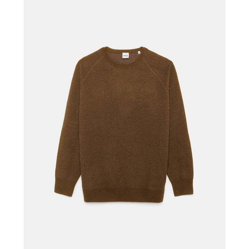 Aspesi Crew Sweater Dark Sand