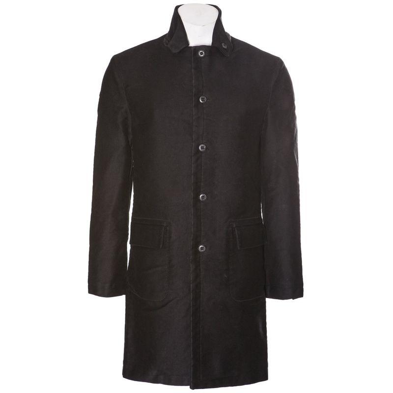 Hannes Roether Officers Coat Black