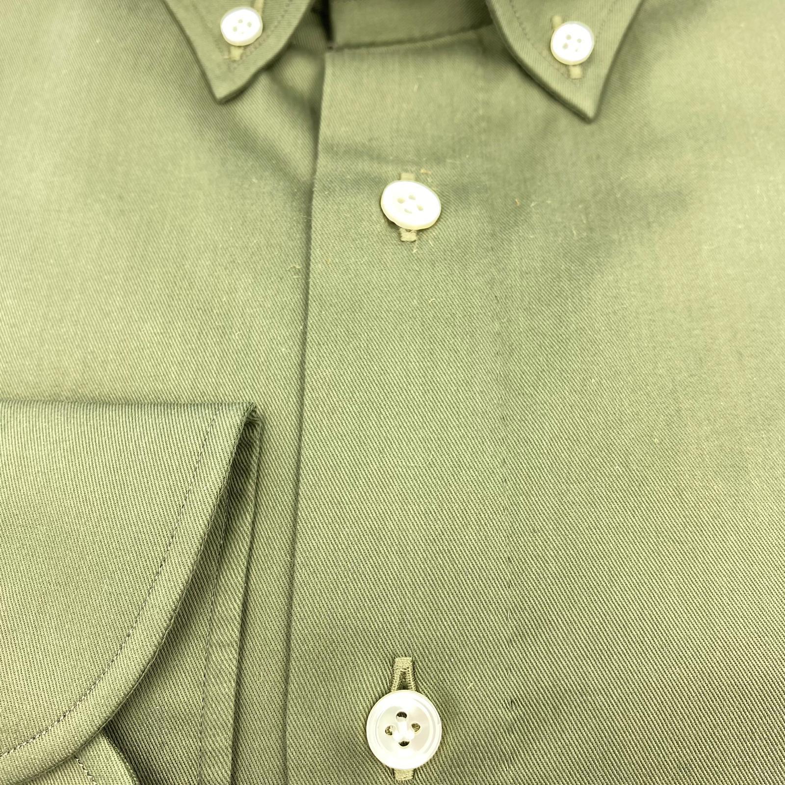 Foto van 100 Hands Cotton Military Button down