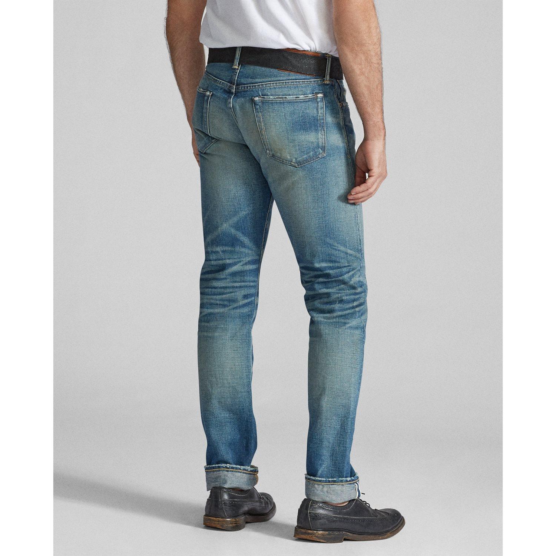 Foto van Ralph Lauren RRL Slim Fit Selvedge Jeans