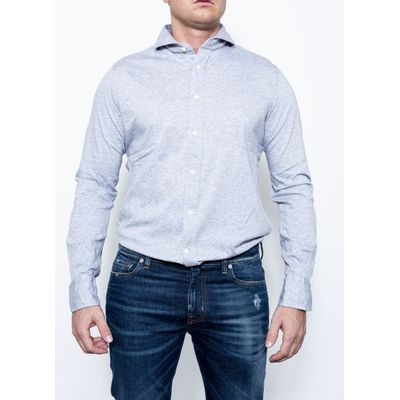 Foto van Bolzonella Can Carre Punta Shirt Grey