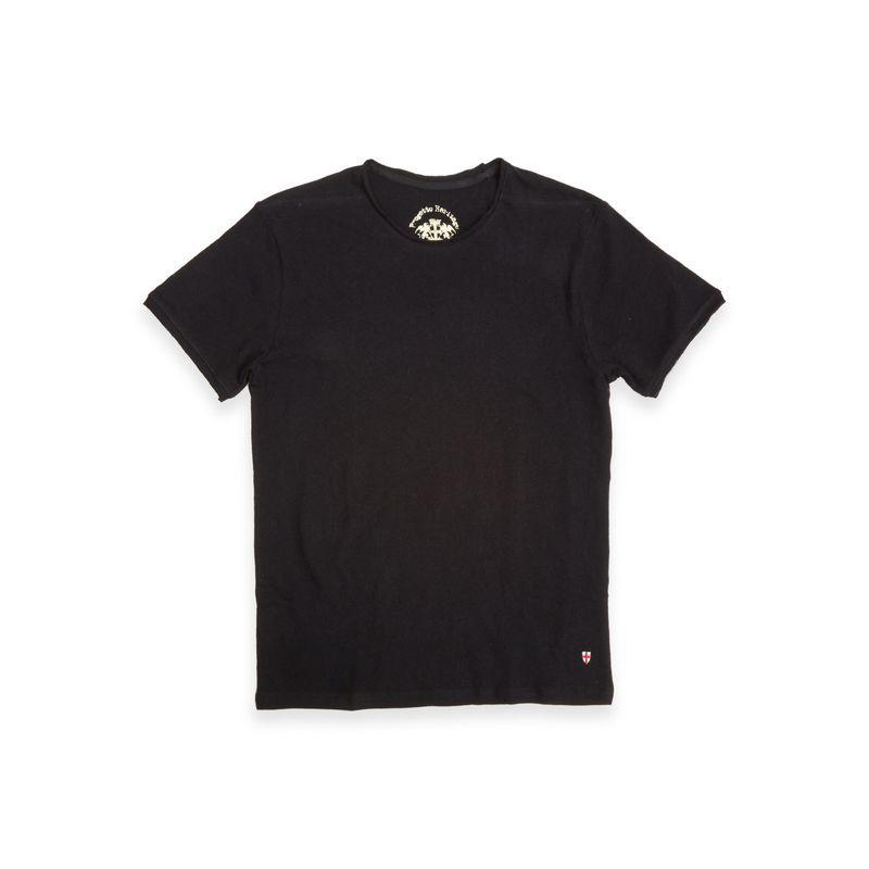 Blue De Genes Lino T-shirt Black