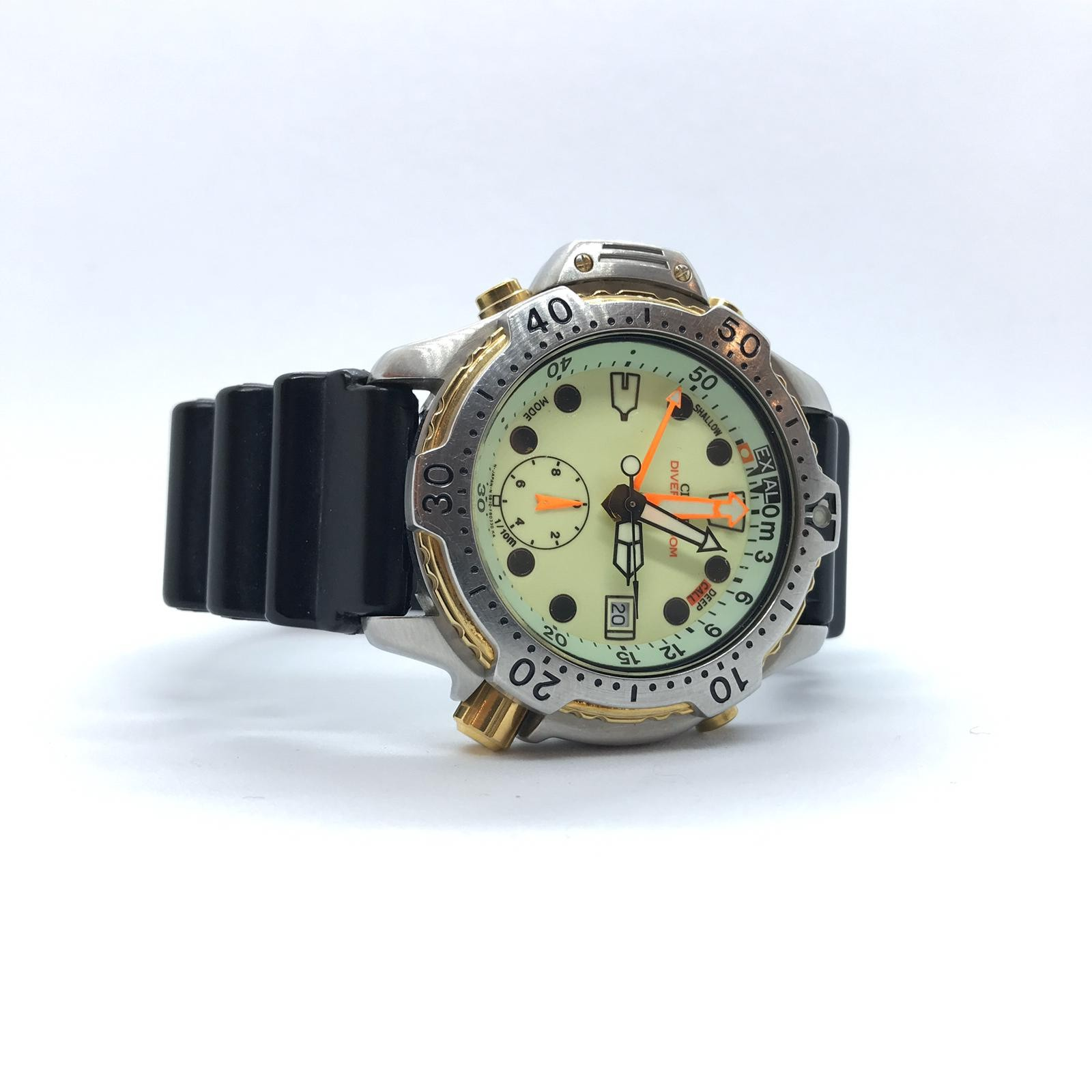 Foto van Vintage Citizen Promaster Agualand Green Index