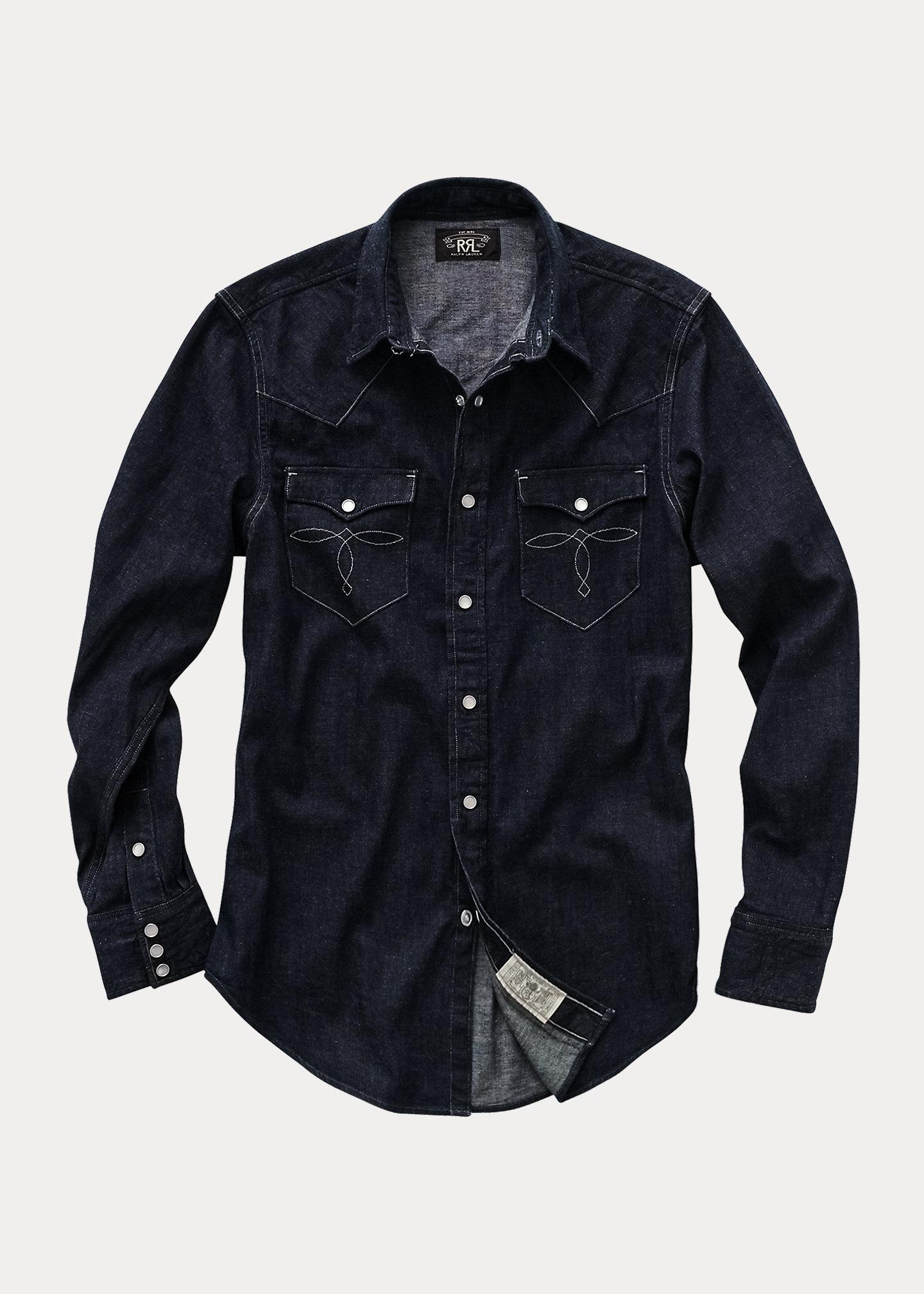Ralph Lauren RRL Buffalo West-Long Shirt