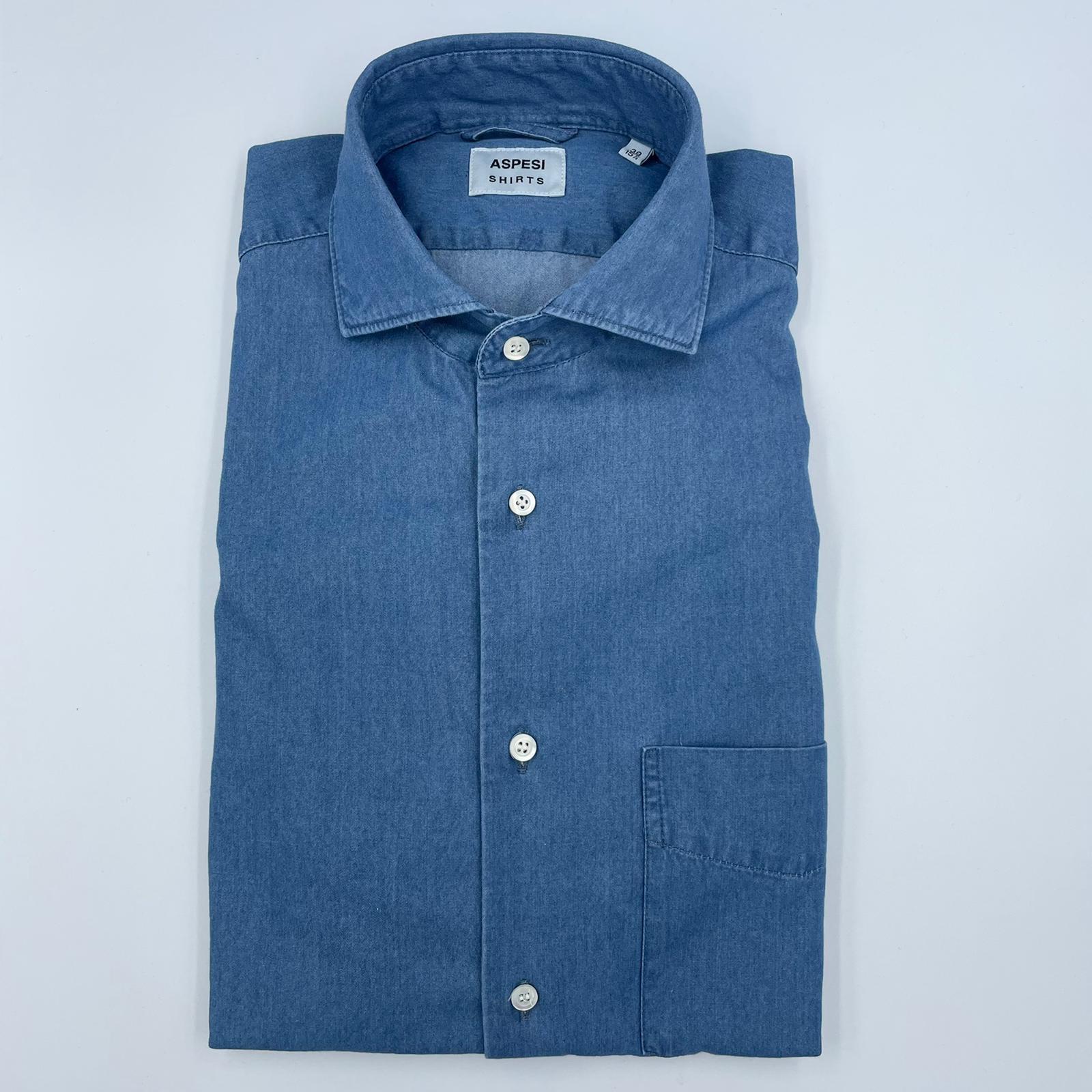 ASPESI CAMICIA jeans