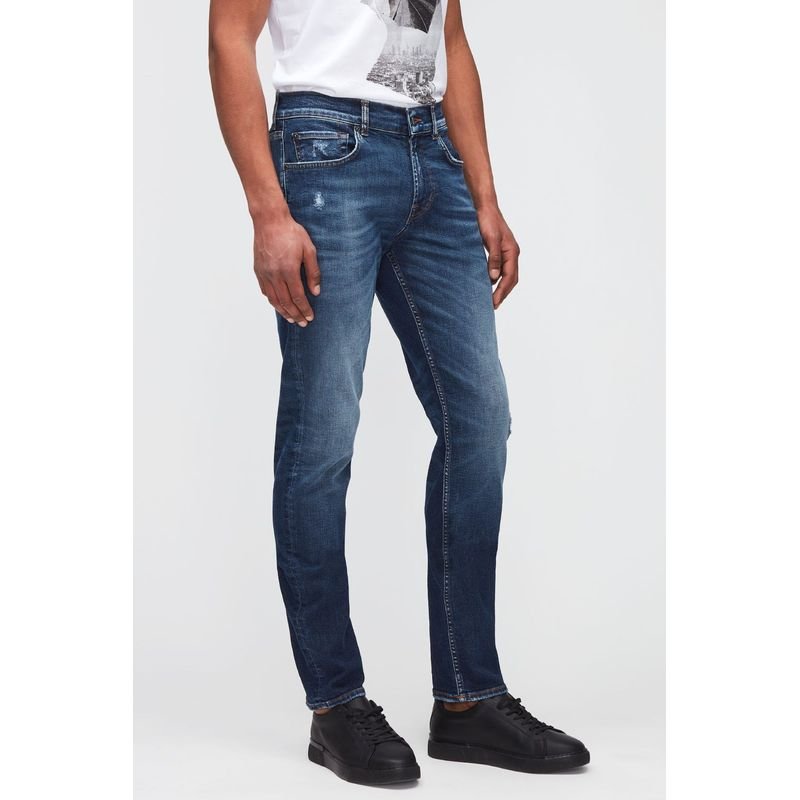 7 For All Mankind Slimmy Tapered Stretch Tek Crossover