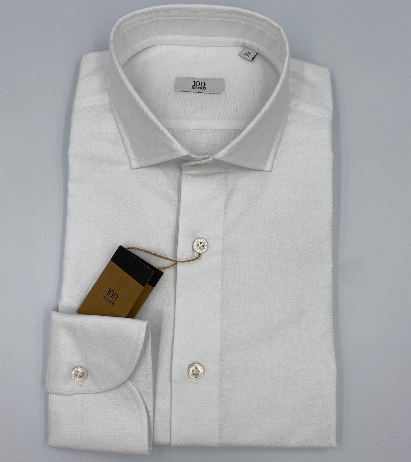 Foto van 100 Hands White Brushed Cotton