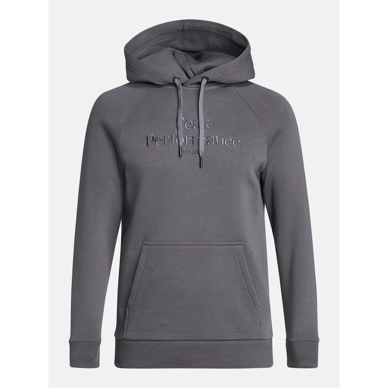 Peak Performance Grey Hoodie
