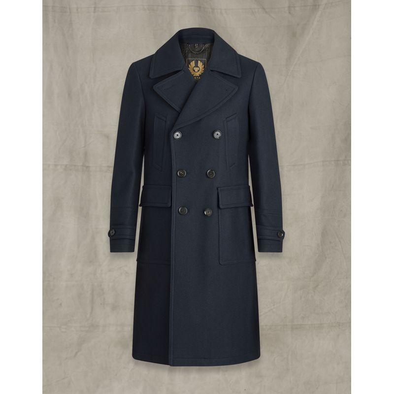 Belstaff New Milford Coat Ink Blue
