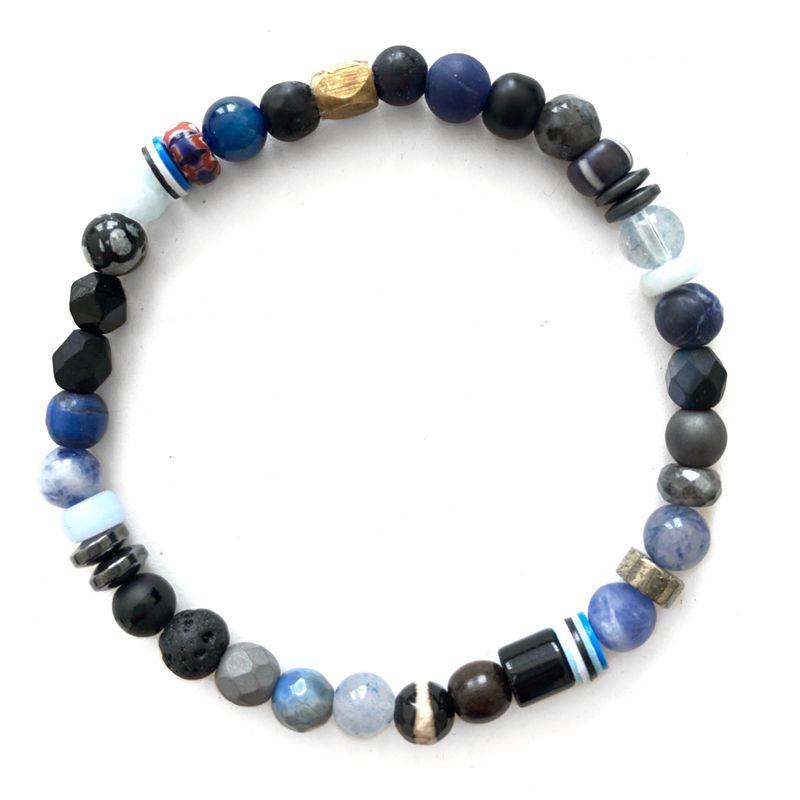 Kaoss jewellery Blue Jasper