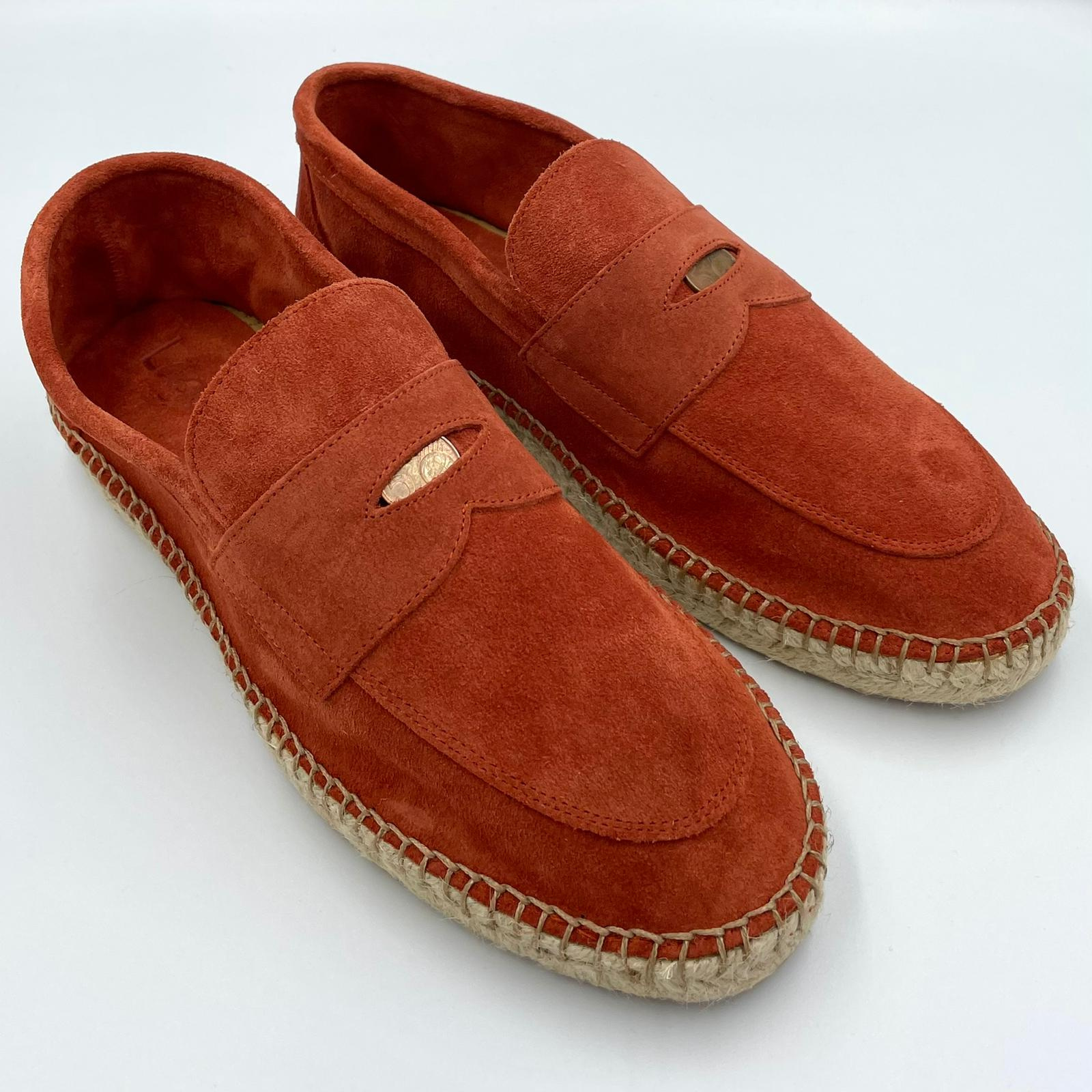 Foto van Logoa Loafer 5 cent Suede Rust