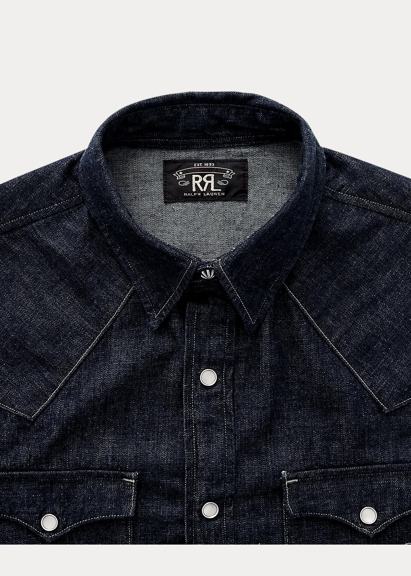 Afbeelding van Ralph Lauren RRL Buffalo West-Long Shirt