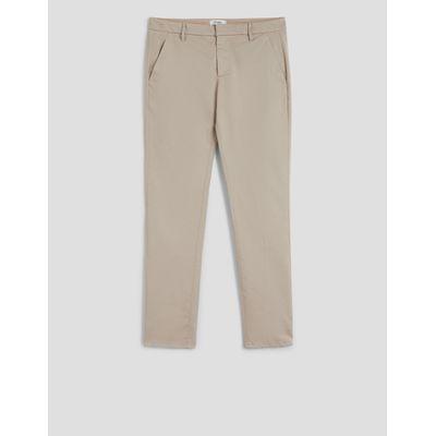 Foto van Dondup Gaubert Trousers Light Gray Poplin