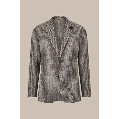 Foto van Windsor Giro Jersey Jacket with Linen in Brown-Beige