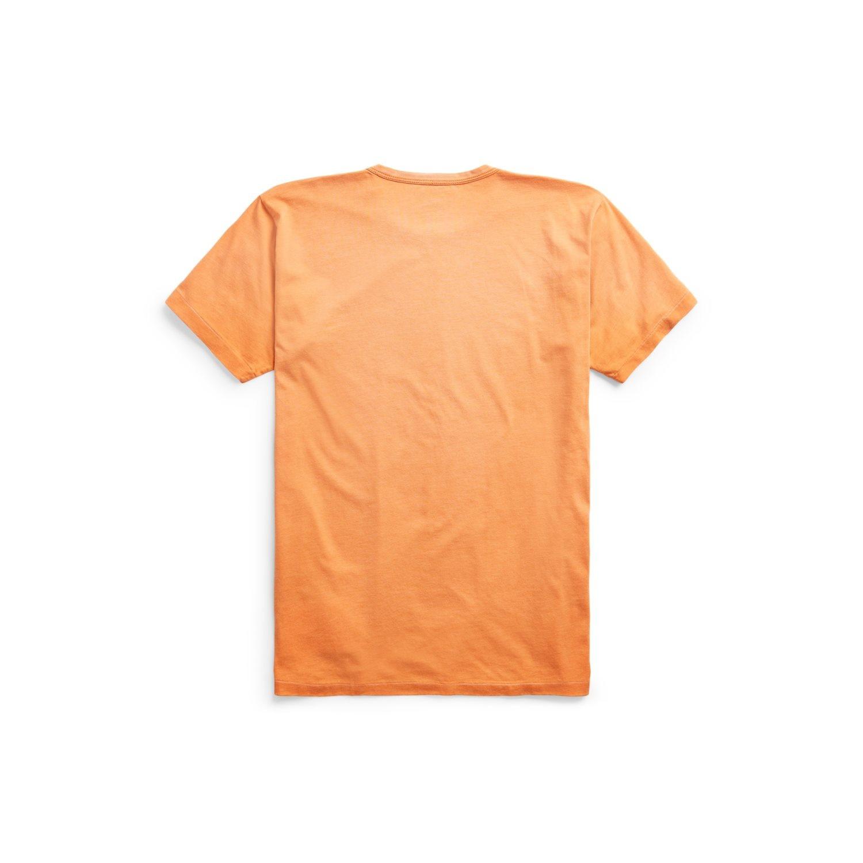 Afbeelding van Ralph Lauren RRL Orange T-Shirt