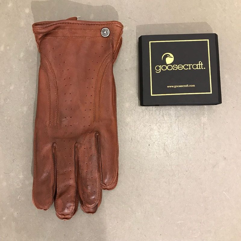 Goosecraft Glove Cognac