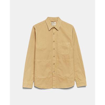 Foto van Aspesi Cotton Shirt Beige