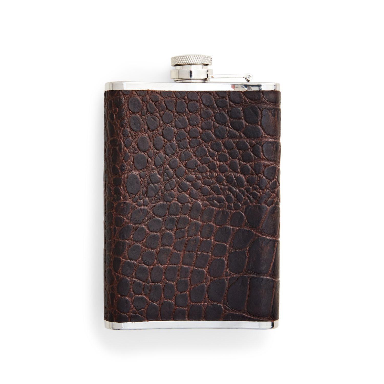 Afbeelding van Ralph Lauren RRL Flask-Travel-Embossed Leather