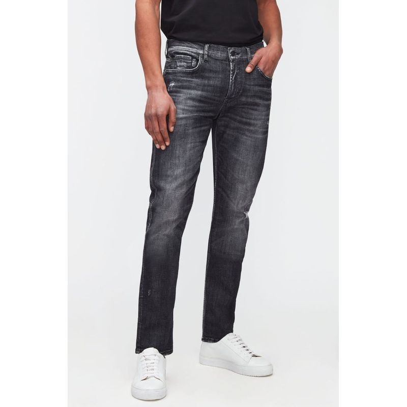 7 For All Mankind Slimmy Tapered Must-Have Black