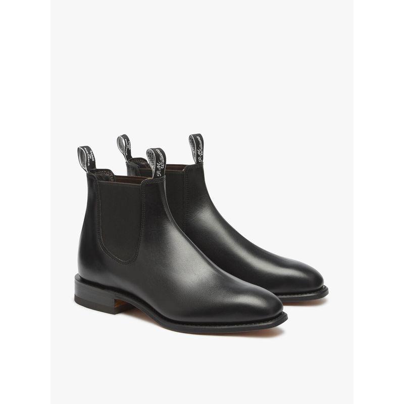R.M. Williams Craftsman Boot Black/Yearling