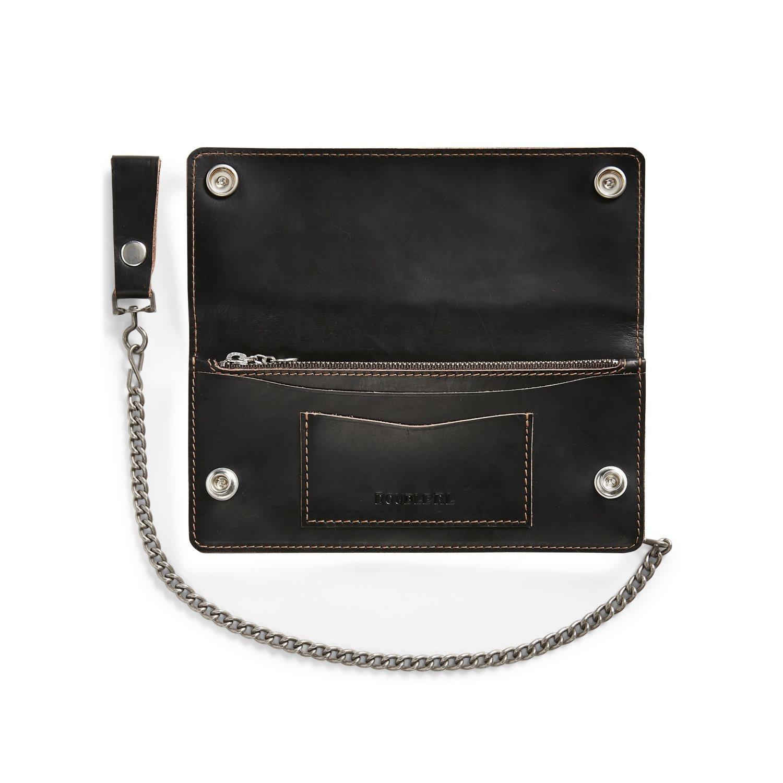 Afbeelding van Ralph Lauren RRL New Surveyor Wallet Tumbled Leather