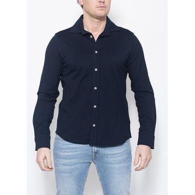 Foto van Circolo Camicia Jersey Shirt Navy