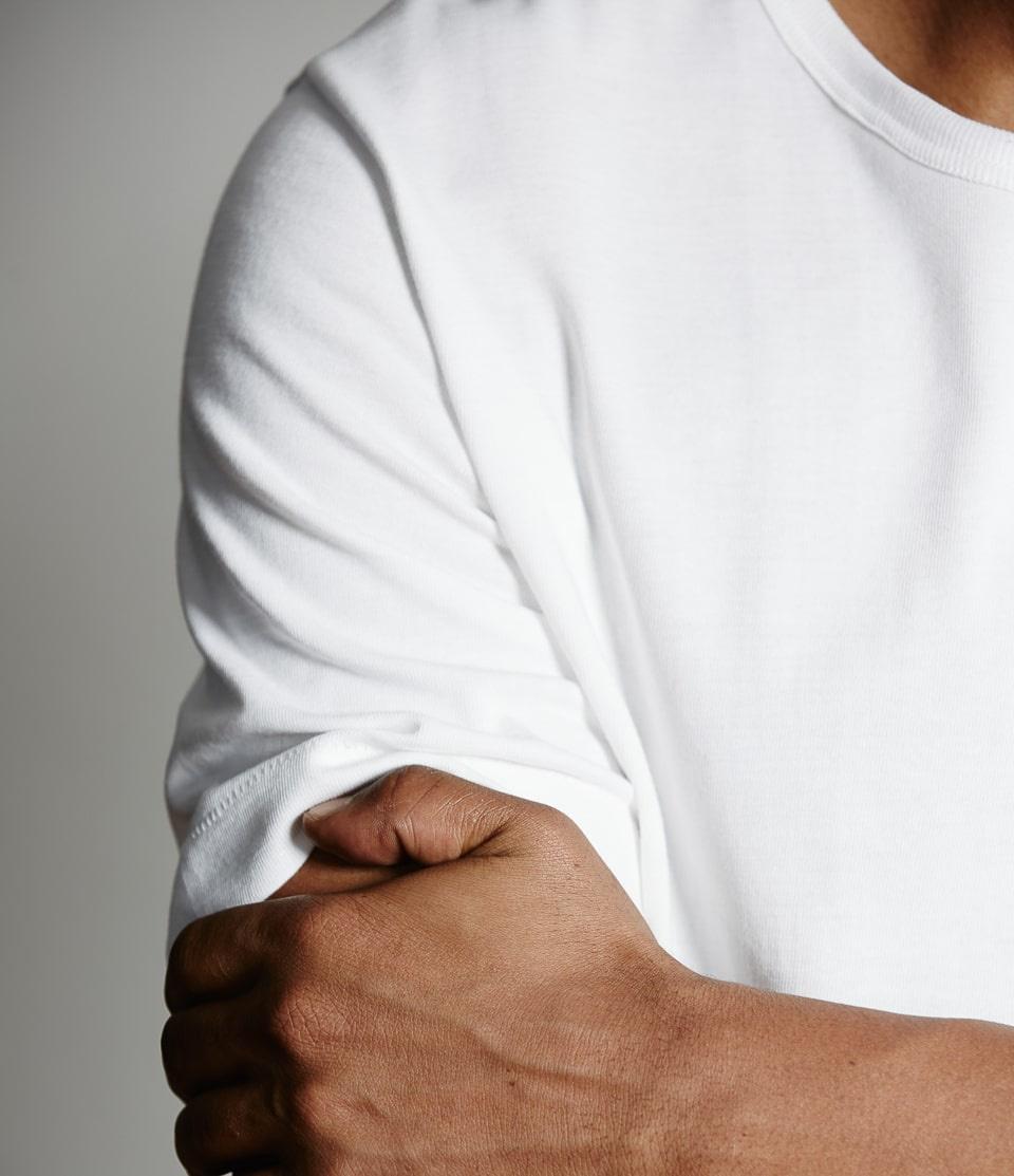 Foto van Merz b. Schwanen 215 White T-Shirt