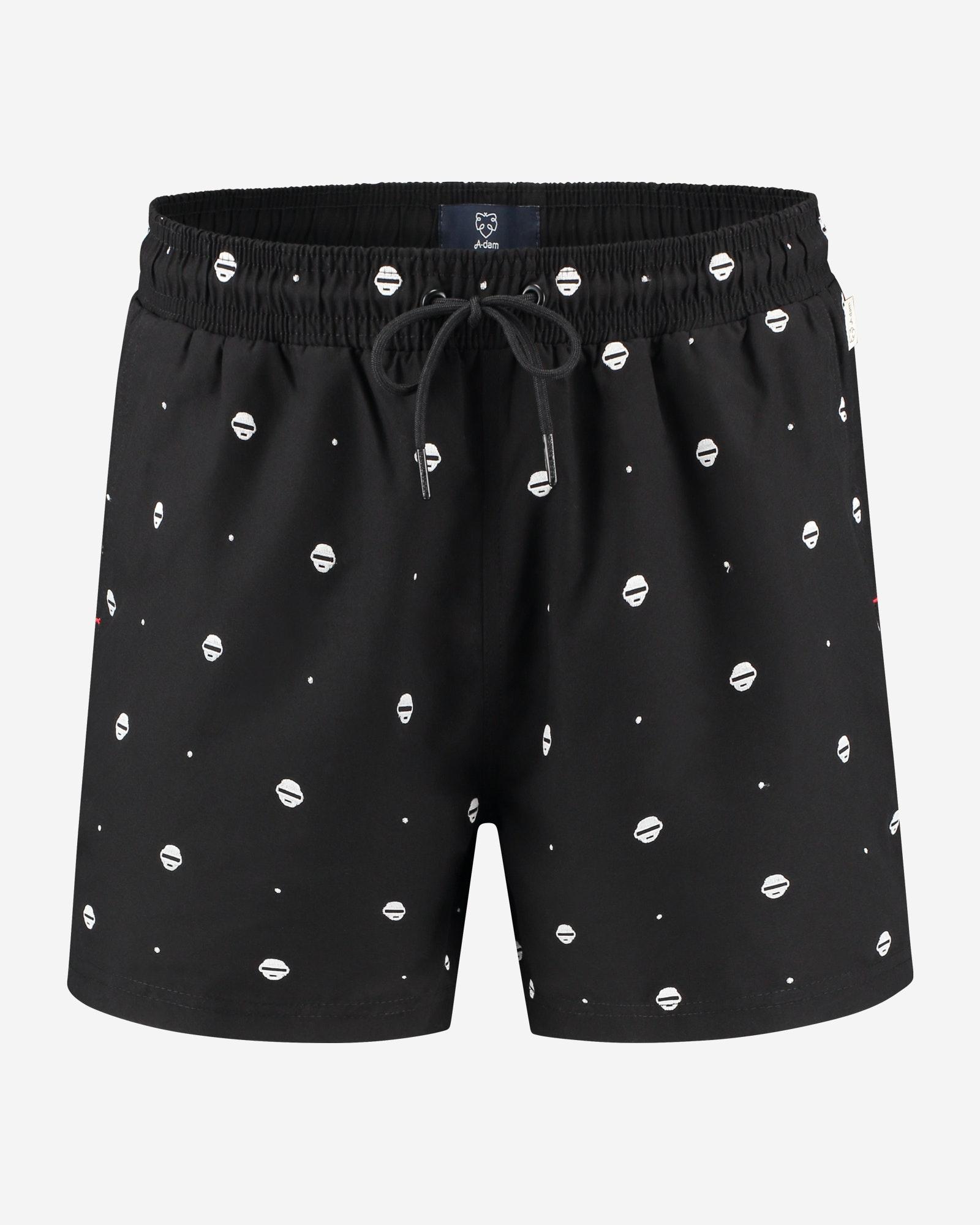 A-dam Swim short Jarl black