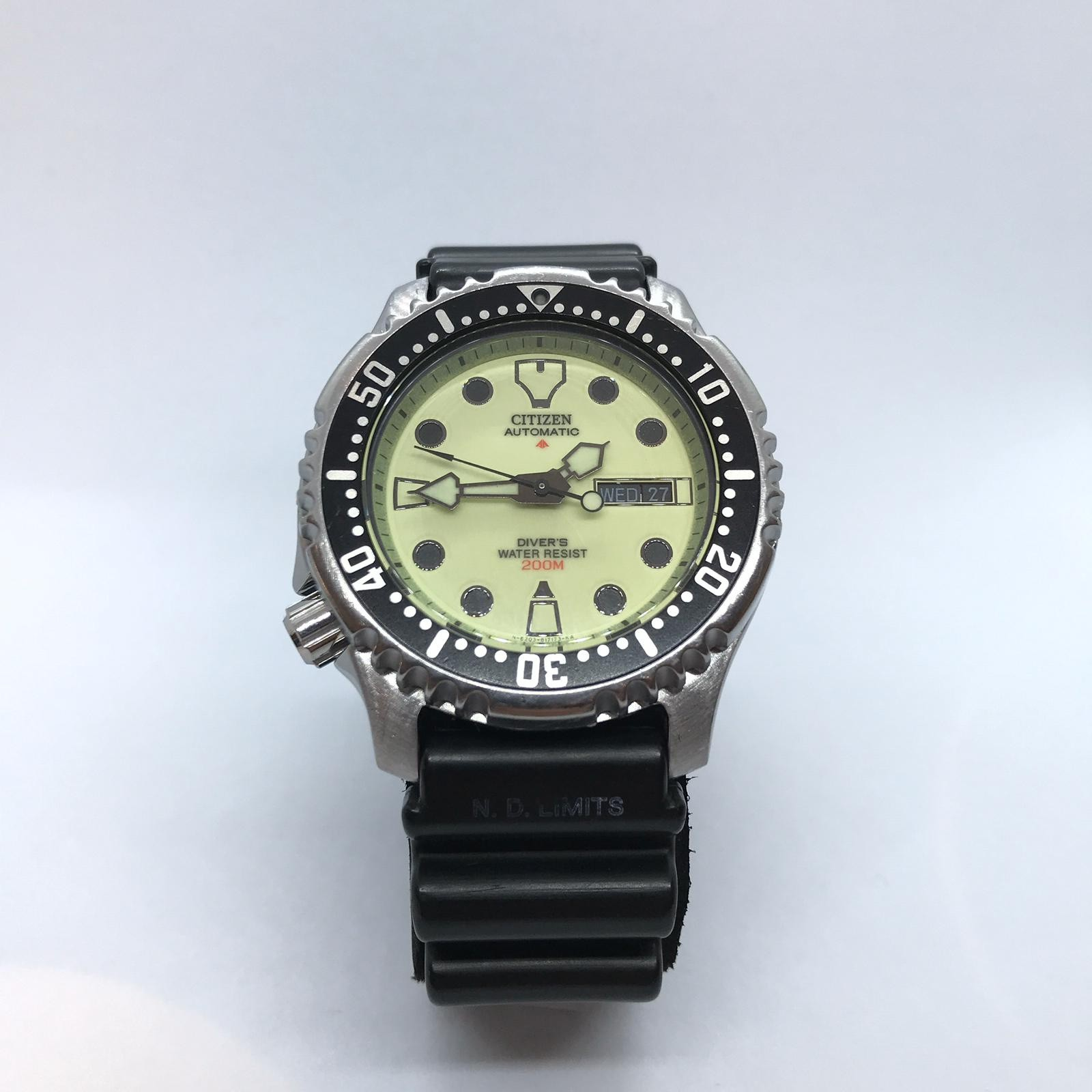 Foto van Citizen Scuba Diver Green Index