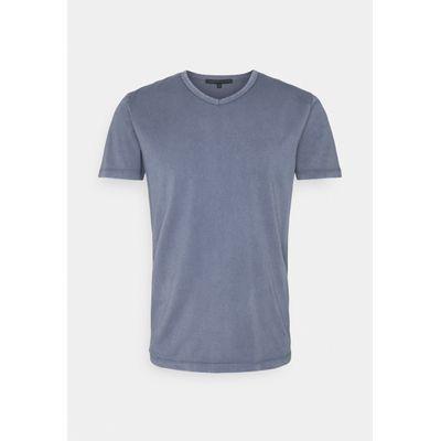 Foto van Drykorn Finn T-shirt Dyed Blue