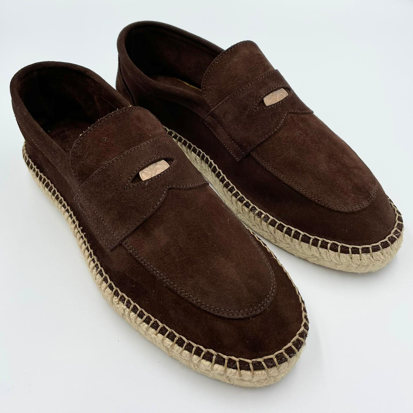 Foto van Lagoa Loafer 5 cent suede T.D.Moro/brown
