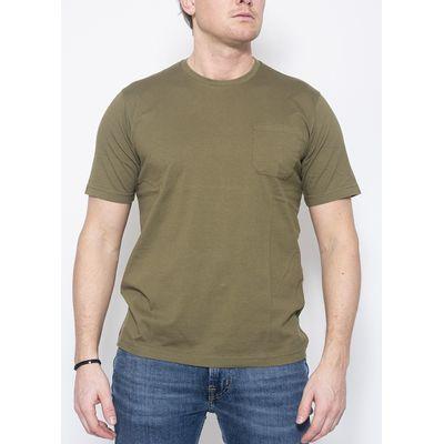 Foto van Aspesi Jersey T-shirt Army Green