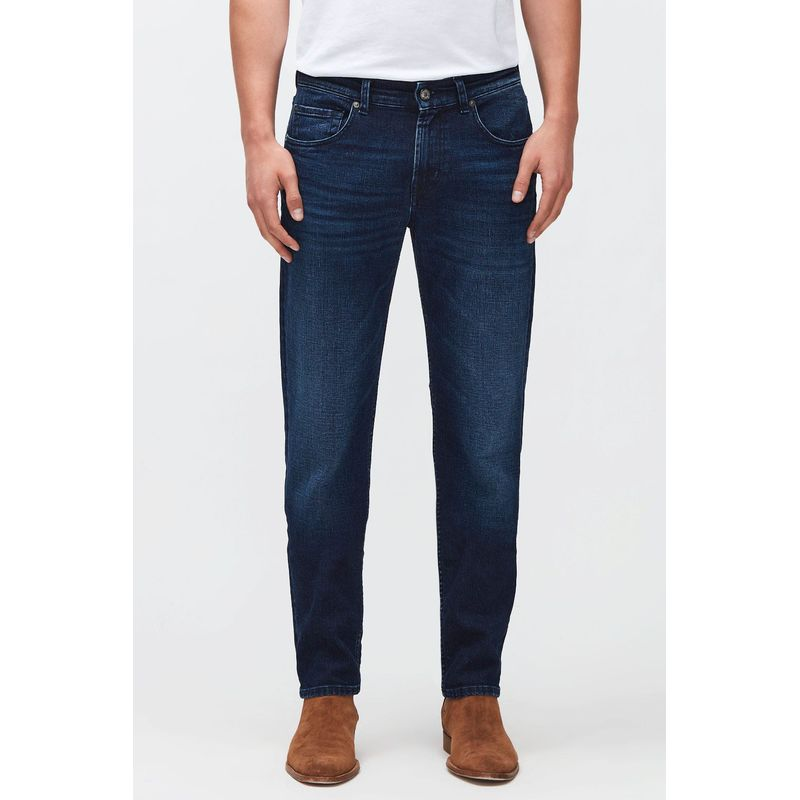7 For All Mankind Slimmy Tapered Cashmere Dark Blue