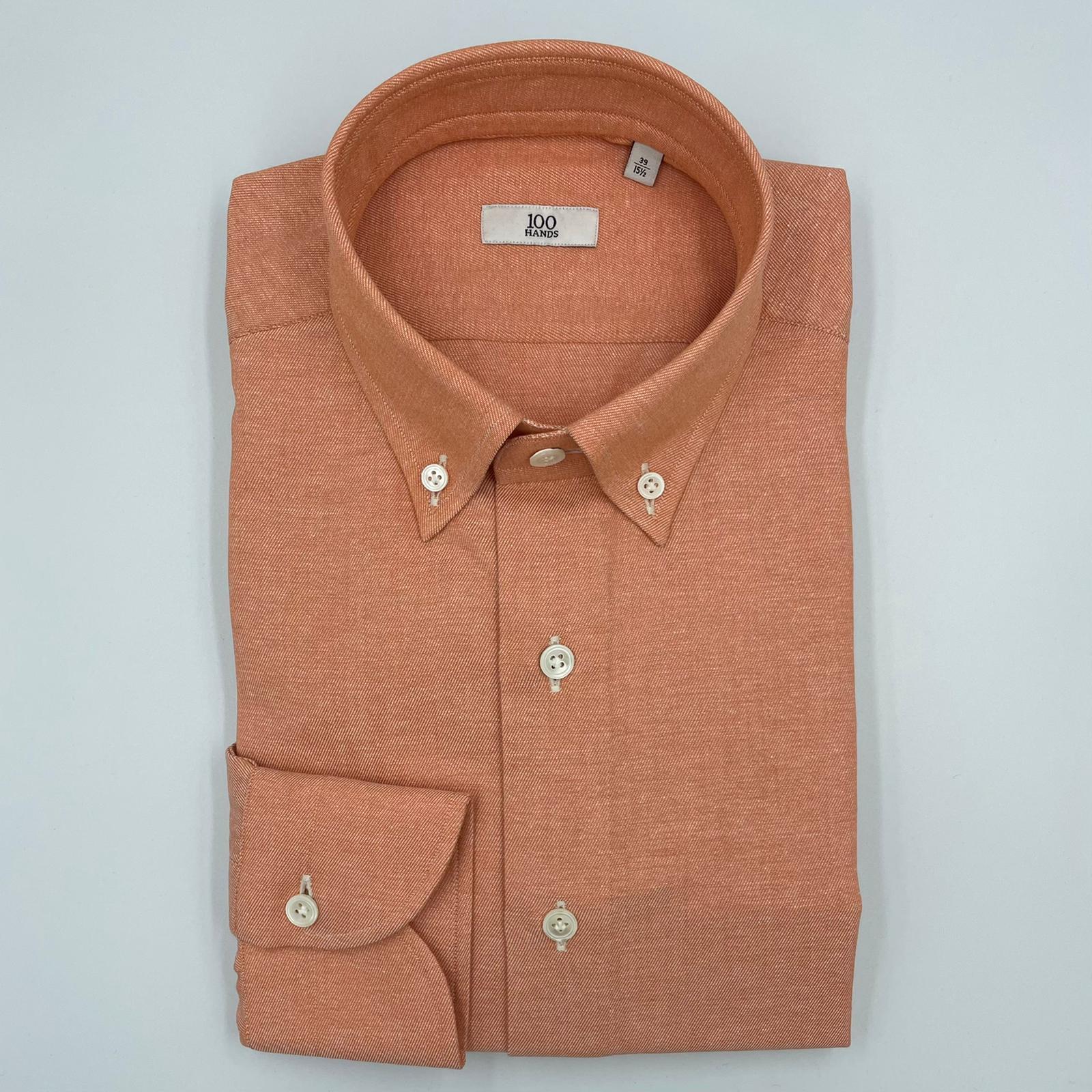 Foto van 100 Hands Shirt Mid Orange
