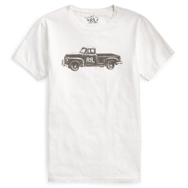 Foto van Ralph Lauren RRL Truck-Graphic T-Shirt