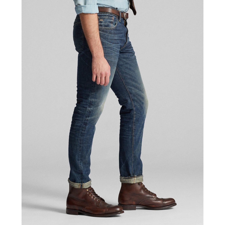 Afbeelding van Ralph Lauren Slim Narrow RRL 5 Pocket Jeans
