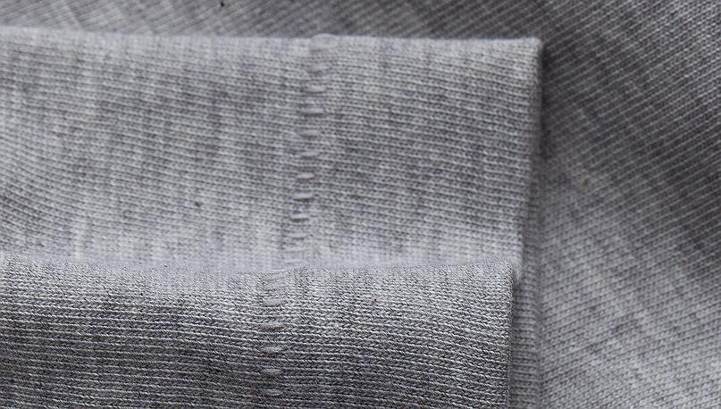 Afbeelding van Merz b. Schwanen 215 Grey Melange T-Shirt